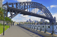 Sydney Harbour Bridge Australien Royaltyfri Bild