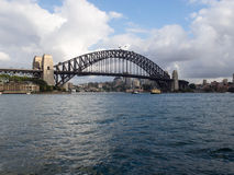 Sydney Harbour Bridge, Australien Stockbild