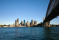 Sydney Harbour Bridge and CBD Royalty Free Stock Image