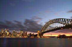 Sydney Harbour Bridge & City Royalty Free Stock Image