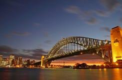 Sydney Harbour Bridge & City Stock Image