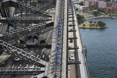 Sydney Harbour Bridge climbers