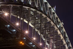 Sydney Harbour Bridge Closeup Royalty Free Stock Photography