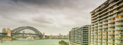 Sydney Harbour Bridge de Quay circulaire photos libres de droits