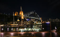 Sydney Harbour Bridge des roches, Sydney Image libre de droits