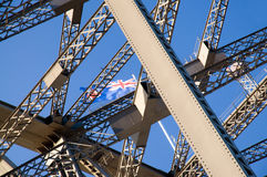Sydney Harbour Bridge detail Stock Photo