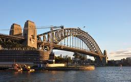 Sydney Harbour Bridge, Early Morning, Australia stock images