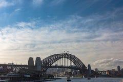 Sydney Harbour Bridge and ferry Stock Photos