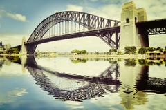 Sydney Harbour Bridge Instagram Stock Foto