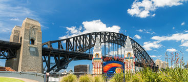 Sydney Harbour Bridge from Kirribilli Royalty Free Stock Photography