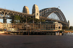 Sydney Harbour Bridge in morning light Royalty Free Stock Photography