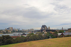 Sydney Harbour Bridge with North Sydney Stock Images