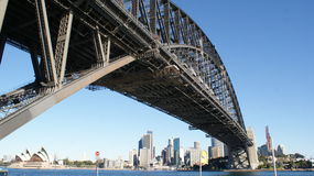 Sydney Harbour Bridge and Opera House Stock Images