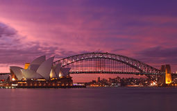 Free Sydney Harbour Bridge & Opera House Royalty Free Stock Photos - 17431958