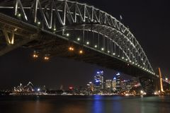 Sydney Harbour Bridge & Opera House Stock Image