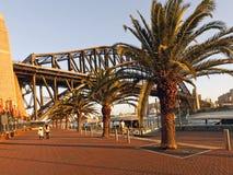Sydney Harbour Bridge Opera House, Australie Photographie stock