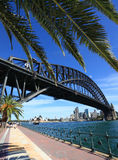 Sydney Harbour Bridge and Opera House Royalty Free Stock Photo