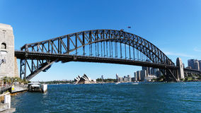 Sydney Harbour Bridge and Opera House Stock Image