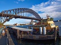 Sydney Harbour Bridge and Opera House Stock Photography