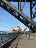 Sydney Harbour Bridge Opera House Stock Image