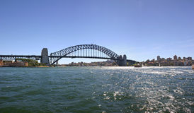 Sydney  harbour bridge panorama Australia Stock Photography