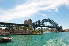 Sydney, Harbour Bridge and Park Hyatt Hotel Royalty Free Stock Photos