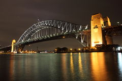 Sydney Harbour Bridge with reflection Stock Photo