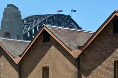 Sydney Harbour Bridge the Rocks Sydney New South Wales Australia Royalty Free Stock Photo