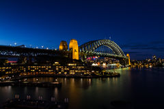 Sydney Harbour Bridge. The Sydney's landmark, Sydney Harbour Bridge Royalty Free Stock Image