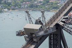 Sydney Harbour Bridge Scaffolding Stock Image