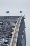Sydney Harbour Bridge: Scalata dell'arco Immagine Stock