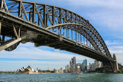 Sydney Harbour Bridge and skyline Stock Image