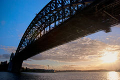 Sydney Harbour Bridge Sunset Stock Images