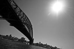 Sydney Harbour Bridge, Sydney, Austrália Imagem de Stock Royalty Free