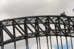Sydney Harbour Bridge in Sydney, Australia Royalty Free Stock Photos