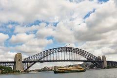 Sydney Harbour Bridge in Sydney, Australia Royalty Free Stock Image