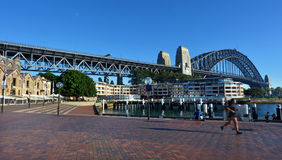 Sydney Harbour Bridge, Sydney Australia royalty-vrije stock fotografie