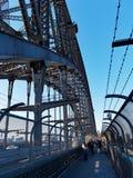 Sydney Harbour Bridge Walkway, Australia Stock Photos