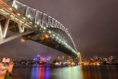 Sydney Harbour bro arkivbilder