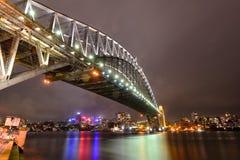 Sydney Harbour-brug stock afbeeldingen