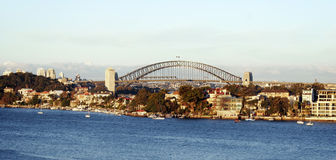 Sydney Harbour from Cockatoo Island Stock Photo