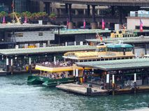 Sydney Harbour Ferries, Circular Quay, Australia Royalty Free Stock Photography