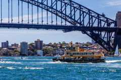 Sydney harbour ferry Royalty Free Stock Photography