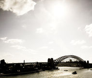 Sydney Harbour (Harbor) Bridge Royalty Free Stock Images