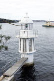 Sydney harbour lighthouse Stock Photography