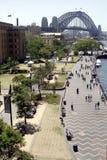 Sydney harbour mostu Zdjęcia Royalty Free