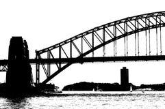 Sydney harbour mostu Obrazy Stock