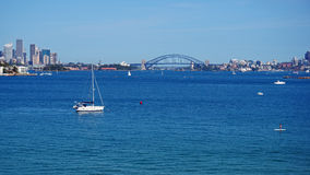Sydney Harbour Panorama, Australia Stock Image