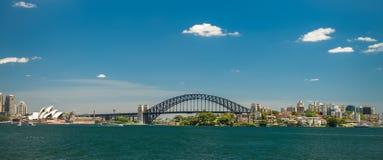 Sydney Harbour Panorama Stock Image