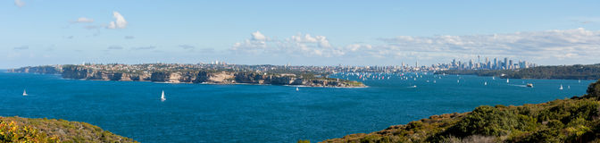 Sydney Harbour Panoramic Royalty Free Stock Images